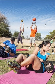 group fitness bootcamp personal fitness activity training exercise west sussex